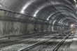 Empty Subway Tunnel - 62154460