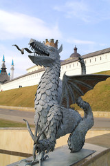 Dragon from the coat of arms of city Kazan