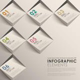 3d abstract infographics