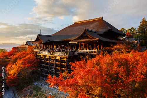 Foto op Canvas Bedehuis Kiyomizu-dera Temple in Kyoto