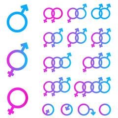 Sex symbols combination