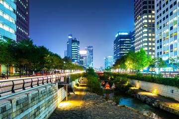 Cheonggyecheon in seoul
