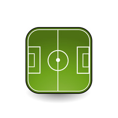 Icon for a soccer field