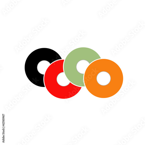 Colorful vinyl