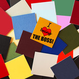 Love Being the Boss, sign series concept for business owners, se