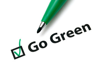 Vote for go green