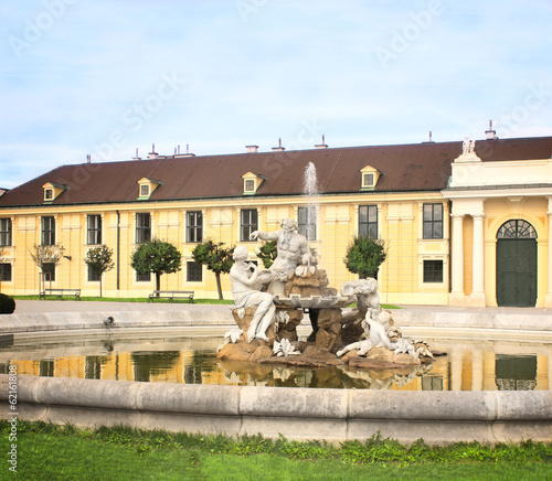 Fountain at Schonbrunn Palace, Vienna