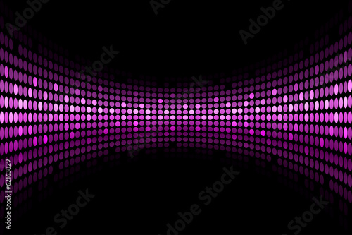 Vector black background with purple lights with space for your t
