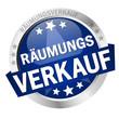 """Button mit Banner """" RÄUMUNGSVERKAUF """""""