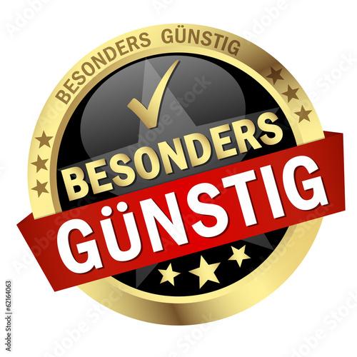 """Button """" BESONDERS GÜNSTIG """""""