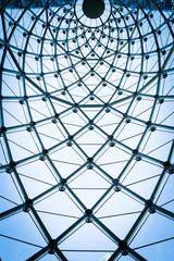 Glass texture of modern building
