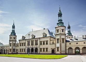 Bishops Palace in Kielce, Poland