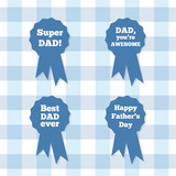 Badges: Happy father's day