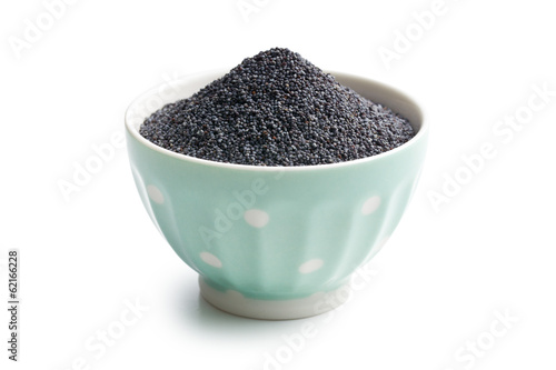 poppy seed in bowl
