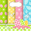 Vivid Easter backgrounds.