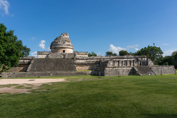 "Observatory temple""El Caracol"" at Chichen Itza, Mexico"