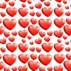 A seamless heart pattern