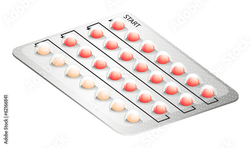 A birth control pill
