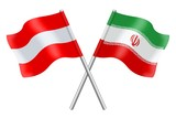 Flags: Austria and Iran