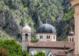 Orthodox Domes over Kotor