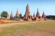 Thailand - Ayutthaya temple complex