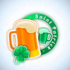 Saint Patrick - Illustration vectorielle