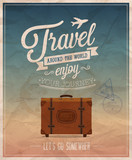 Travel around the world. Vector illustration.