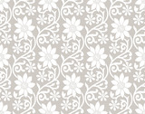 Floral seamless flower background