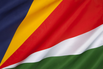 Flag of the Seychelles