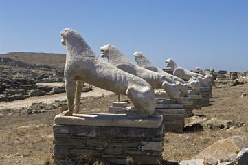 Löwenstrasse auf Delos