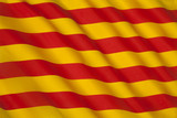 Flag of Catalonia - Spain