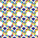 Eastern abstract pattern. Vector seamless background
