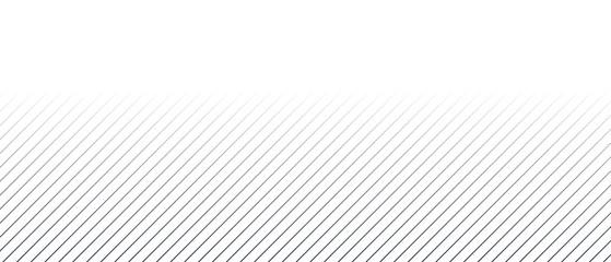 Weißer Hintergrund und schräge blaue Linien mit Farbverlauf