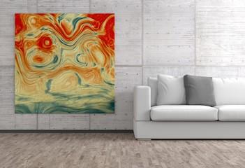 Bild im Wohnzimmer