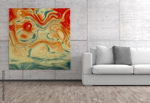 canvas print picture Bild im Wohnzimmer