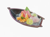 japanese sashimi boat set