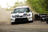 Fotoroleta WRC rally car drift