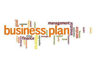 Business plan word cloud
