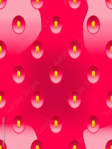Abstract seamless background strawberry.