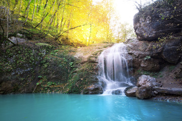 beauty waterfall