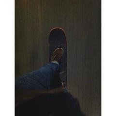 schneller skateboarder