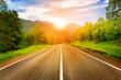sunny road - 62178064