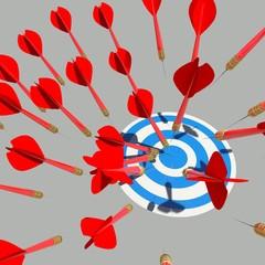 target many darts bussines