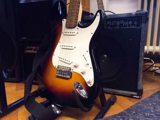 E-Gitarre mir Verstärker