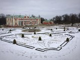 Kadriorg palace in winter
