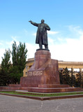 Monument to Lenin in Volgograd. Russia