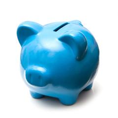 Piggy bank or money box.