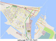 Port Said Egypt Middle East hi res aerial view map