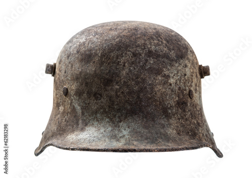 Old german helmet