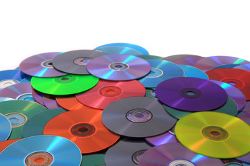 CD and DVD (data) background